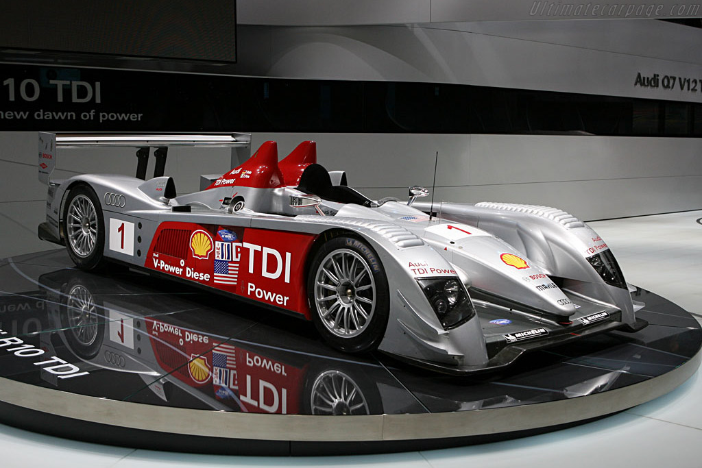 Audi R10    - 2007 North American International Auto Show (NAIAS)