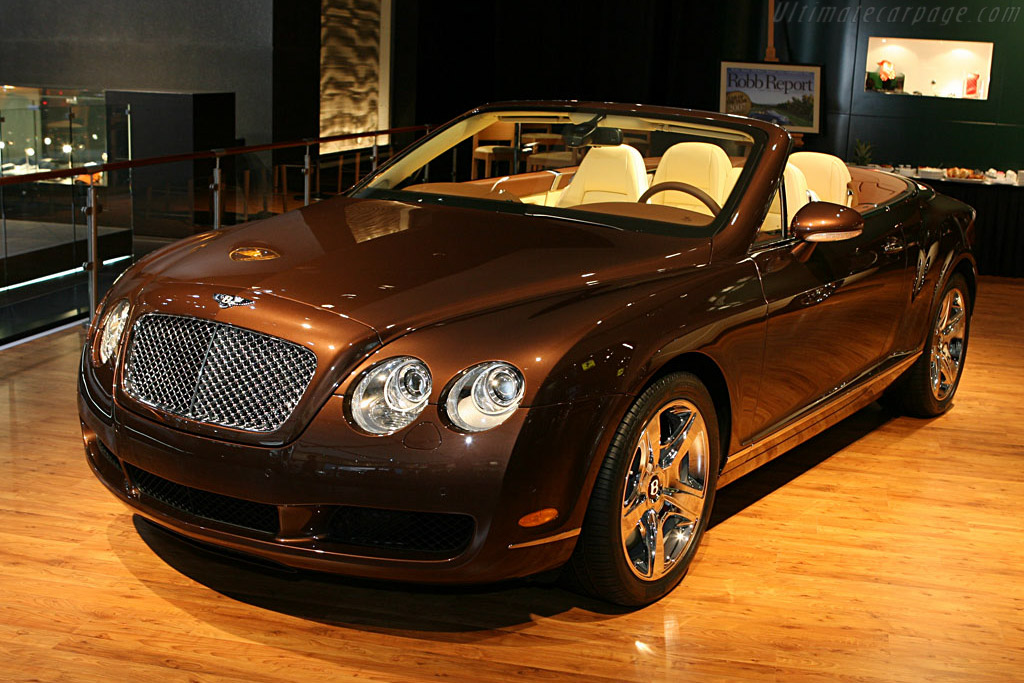 Bentley Continental GTC    - 2007 North American International Auto Show (NAIAS)