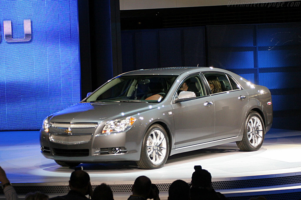 Chevrolet Malibu    - 2007 North American International Auto Show (NAIAS)