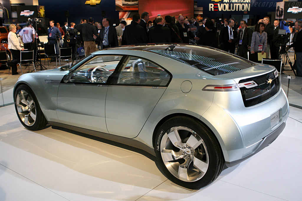 Chevrolet Volt Concept - 2007 North American International Auto Show ...