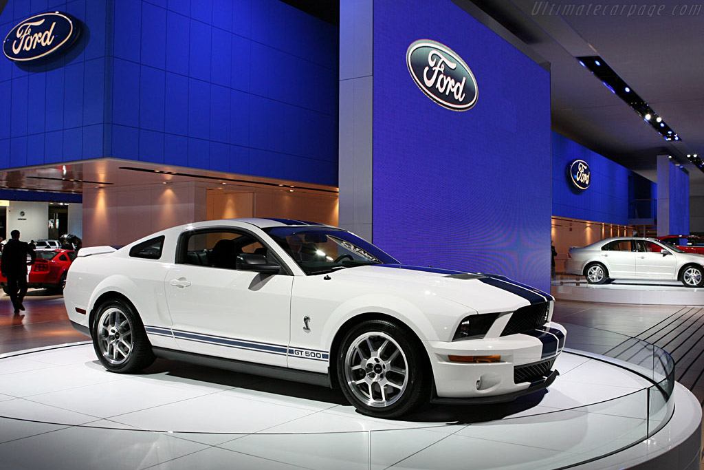Ford Mustang Shelby    - 2007 North American International Auto Show (NAIAS)