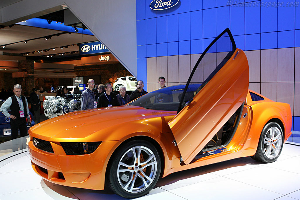 2007 Mustang >> Ford Mustang by Giugiaro - 2007 North American International Auto Show (NAIAS)