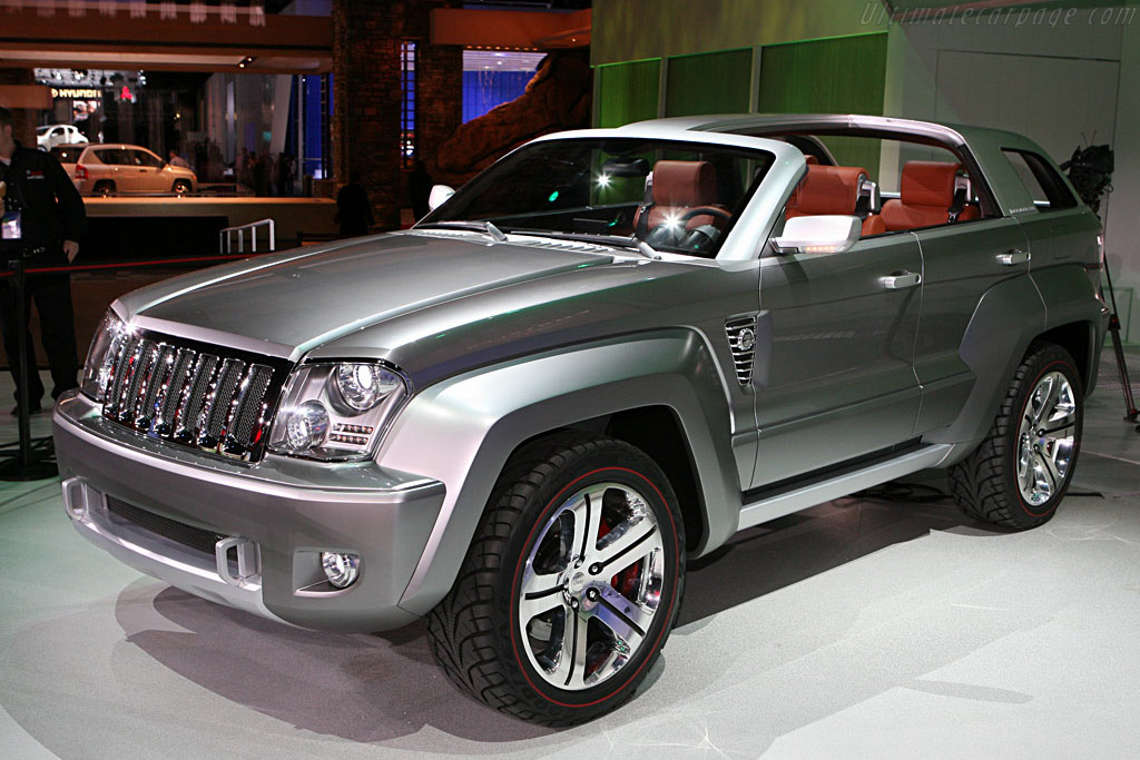 Jeep Trailhawk Concept    - 2007 North American International Auto Show (NAIAS)