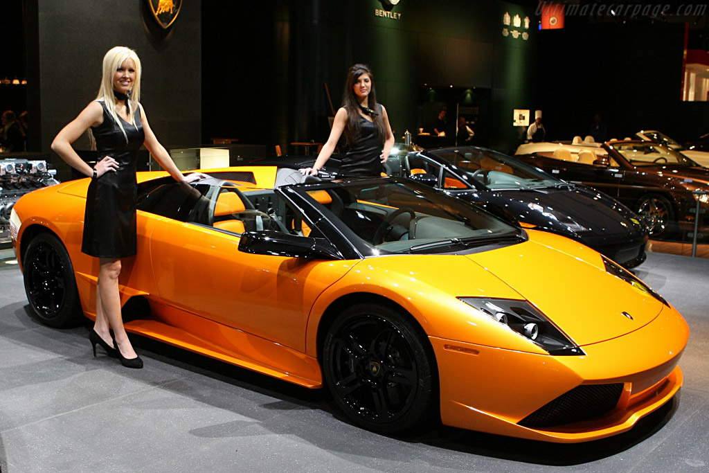Lamborghini Murcielago LP640 Roadster    - 2007 North American International Auto Show (NAIAS)