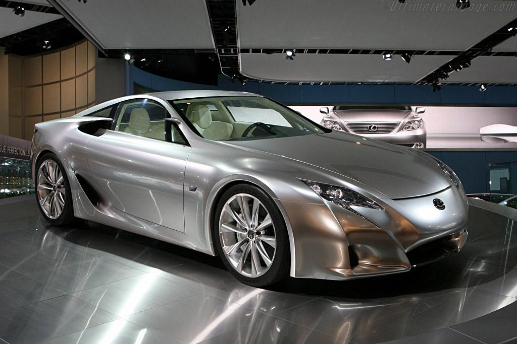 Lexus LF-A    - 2007 North American International Auto Show (NAIAS)