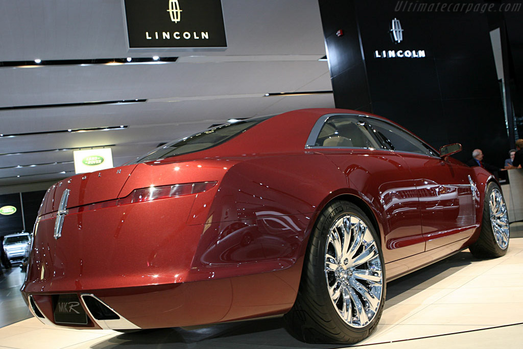 Lincoln MKR Concept    - 2007 North American International Auto Show (NAIAS)