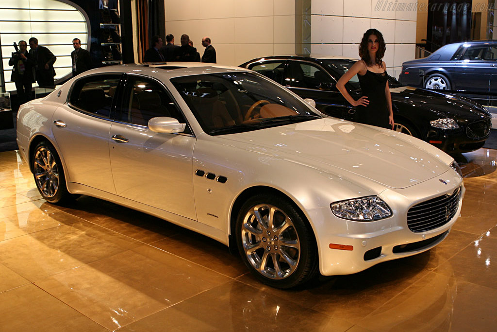 Maserati Quattroporte    - 2007 North American International Auto Show (NAIAS)