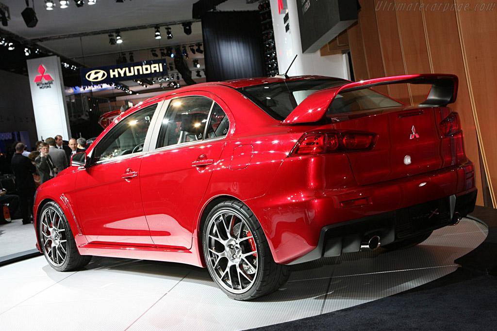 Mitsubishi Prototype X    - 2007 North American International Auto Show (NAIAS)