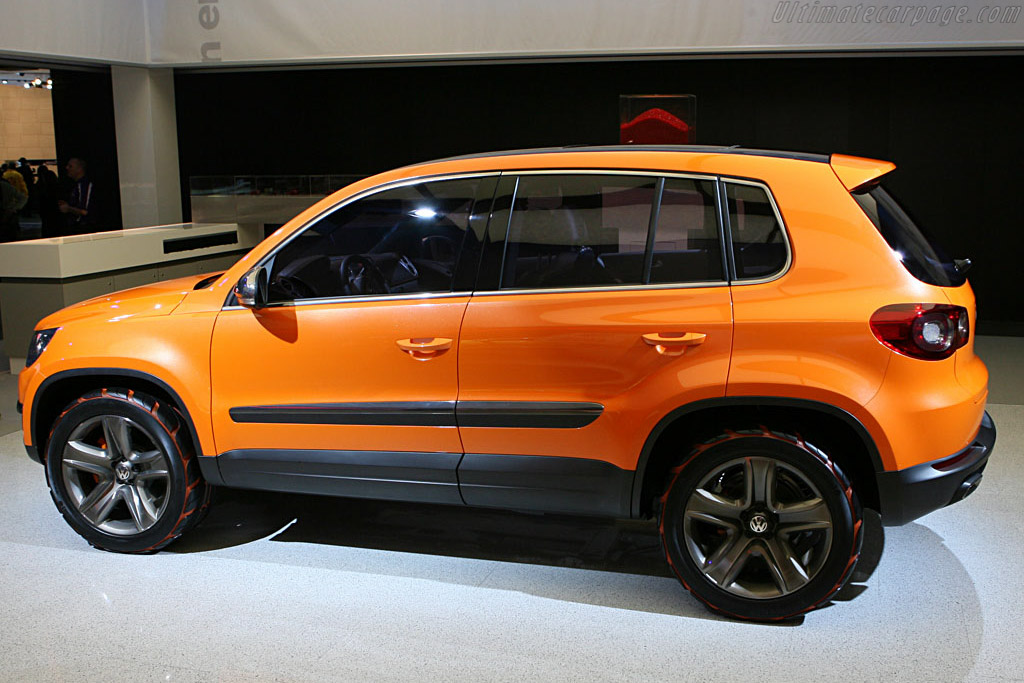 Volkswagen Tiguan Concept    - 2007 North American International Auto Show (NAIAS)
