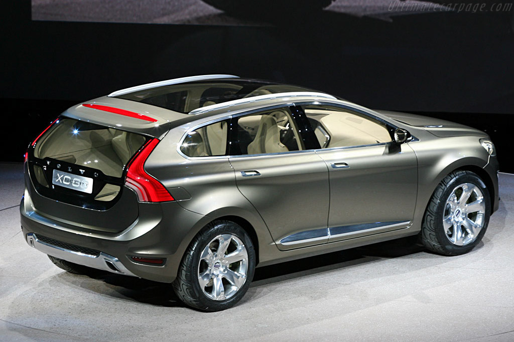 Volvo XC60 Concept    - 2007 North American International Auto Show (NAIAS)