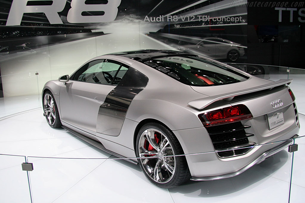Audi R8 V12 TDI Concept    - 2008 North American International Auto Show (NAIAS)
