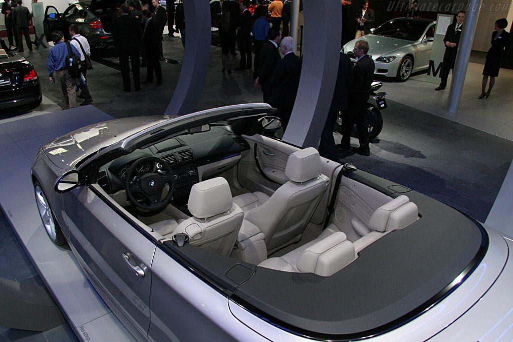 BMW 135i Convertible    - 2008 North American International Auto Show (NAIAS)