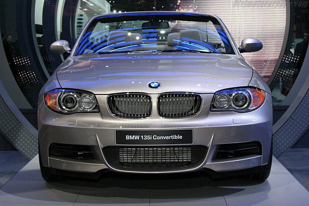 BMW 135i Convertible    - 2008 North American International Auto Show (NAIAS)