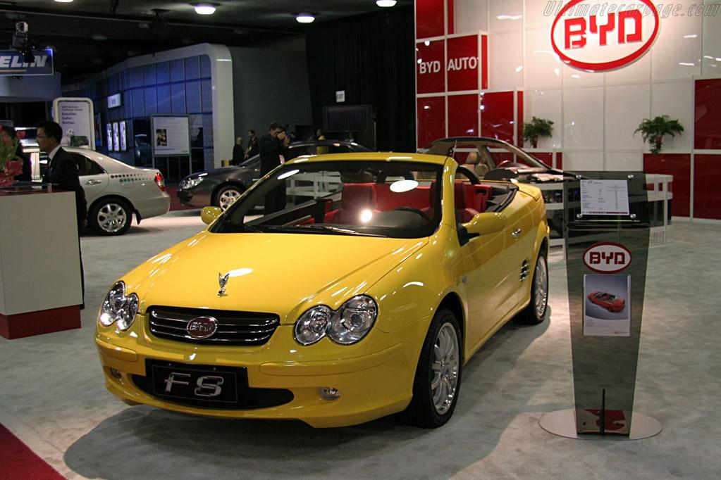 BYD F8    - 2008 North American International Auto Show (NAIAS)