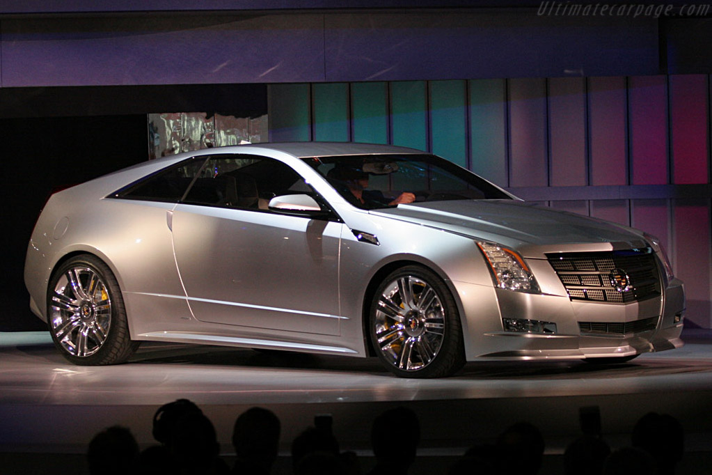 Cadillac CTS Coupe Concept    - 2008 North American International Auto Show (NAIAS)