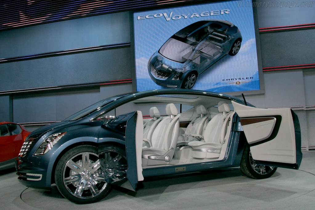 Chrysler Ecovoyager Concept    - 2008 North American International Auto Show (NAIAS)