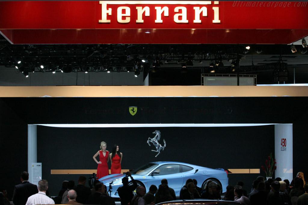 Ferrari Booth    - 2008 North American International Auto Show (NAIAS)