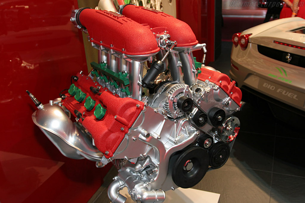 Ferrari F430 Bio-Fuel    - 2008 North American International Auto Show (NAIAS)