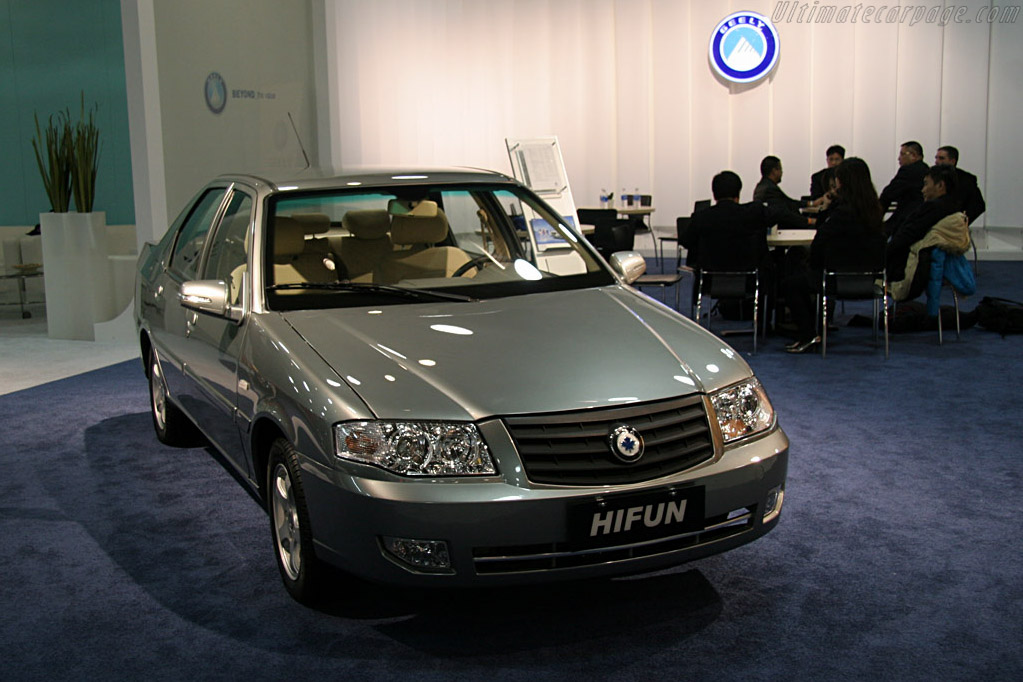 Geely Hifun    - 2008 North American International Auto Show (NAIAS)