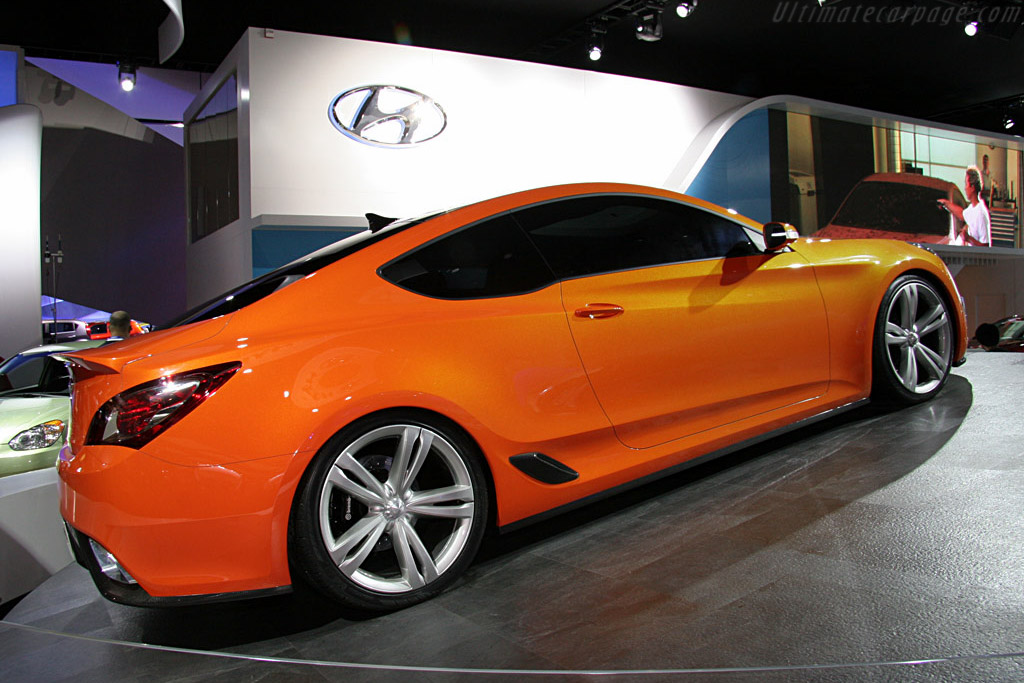 Hyundai Genesis Coupe Concept    - 2008 North American International Auto Show (NAIAS)