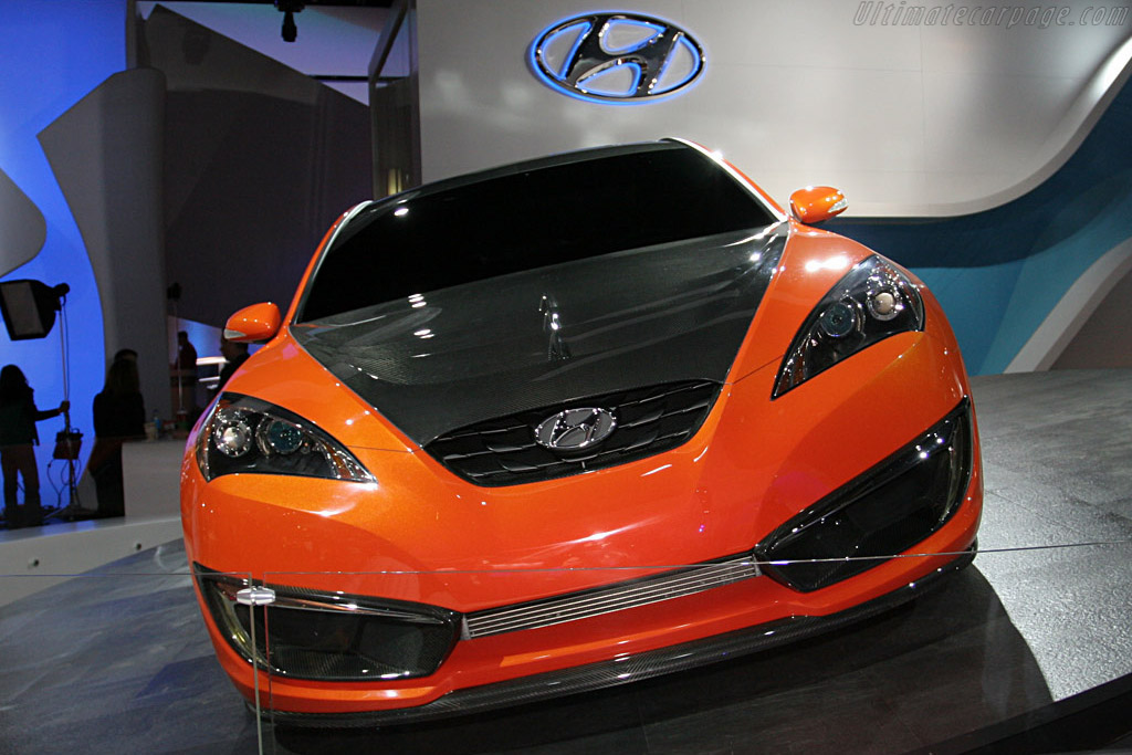 Hyundai Genesis Coupe Concept 2008 North American
