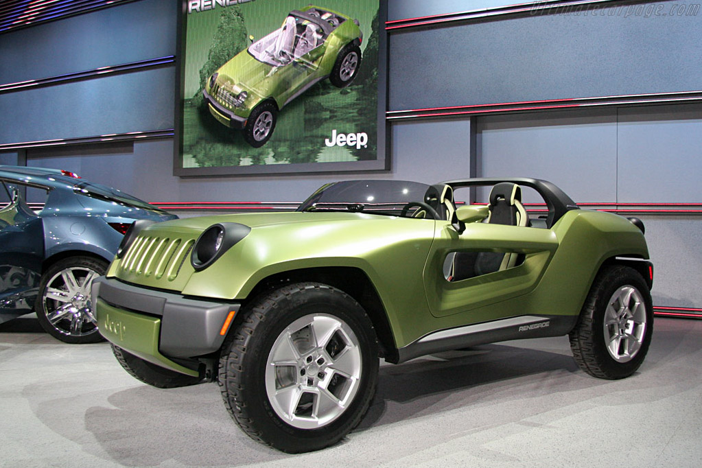 Jeep Renegade Concept    - 2008 North American International Auto Show (NAIAS)