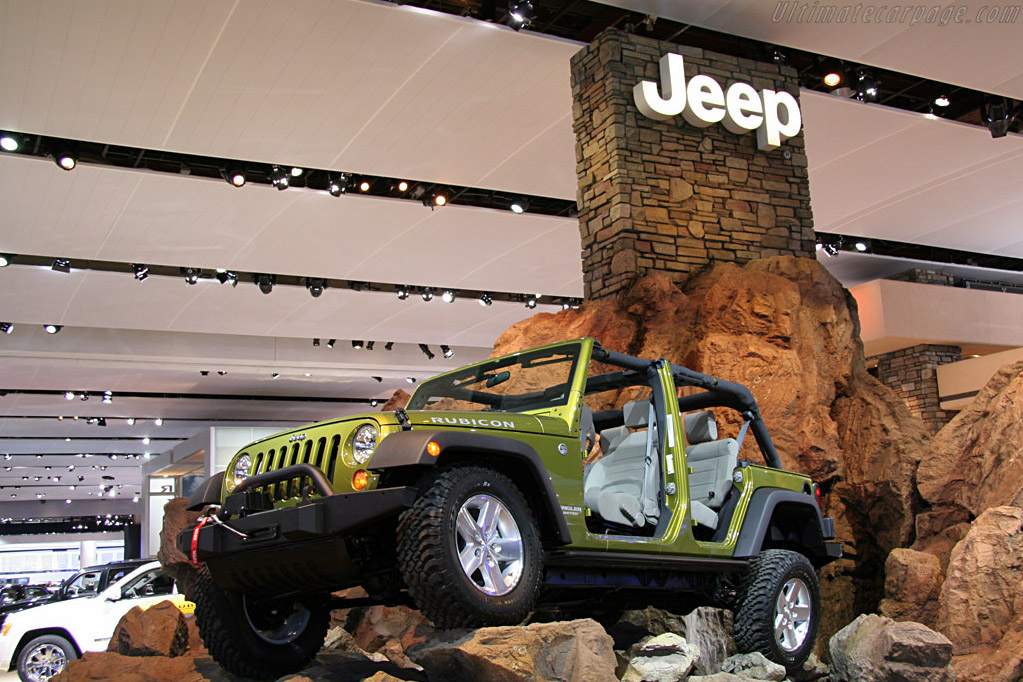 Jeep Rubicon    - 2008 North American International Auto Show (NAIAS)