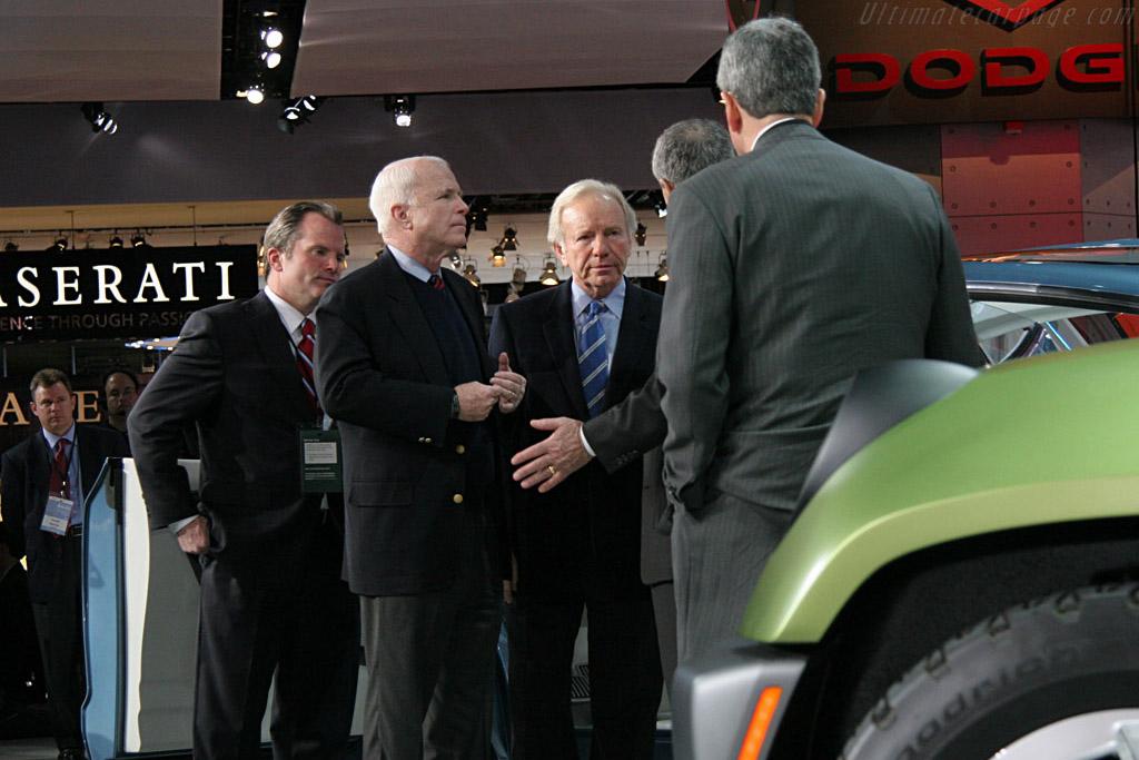 John McCain    - 2008 North American International Auto Show (NAIAS)