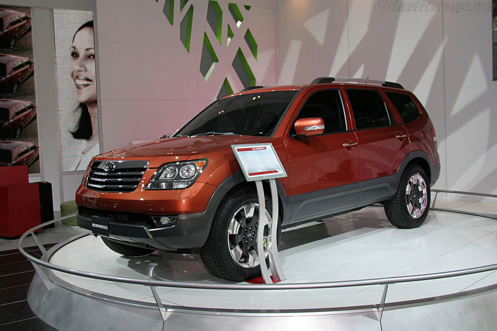 Kia Borrego    - 2008 North American International Auto Show (NAIAS)