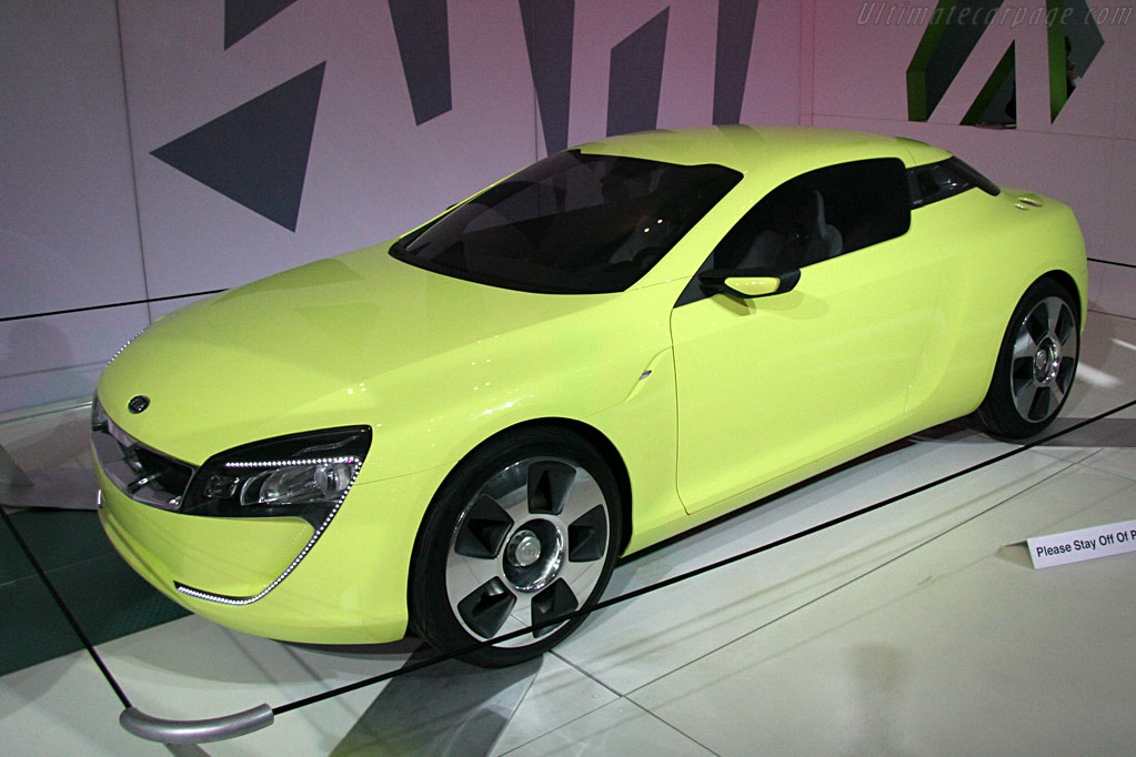 Kia Sports Coupe Concept    - 2008 North American International Auto Show (NAIAS)