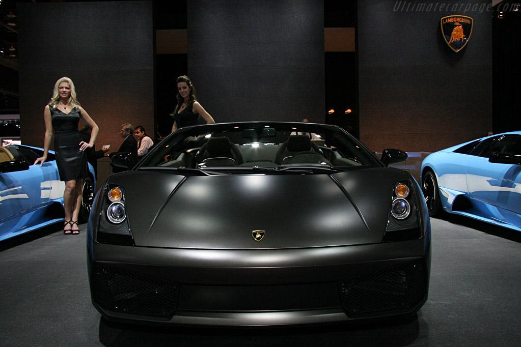 Lamborghini Gallardo Roadster    - 2008 North American International Auto Show (NAIAS)