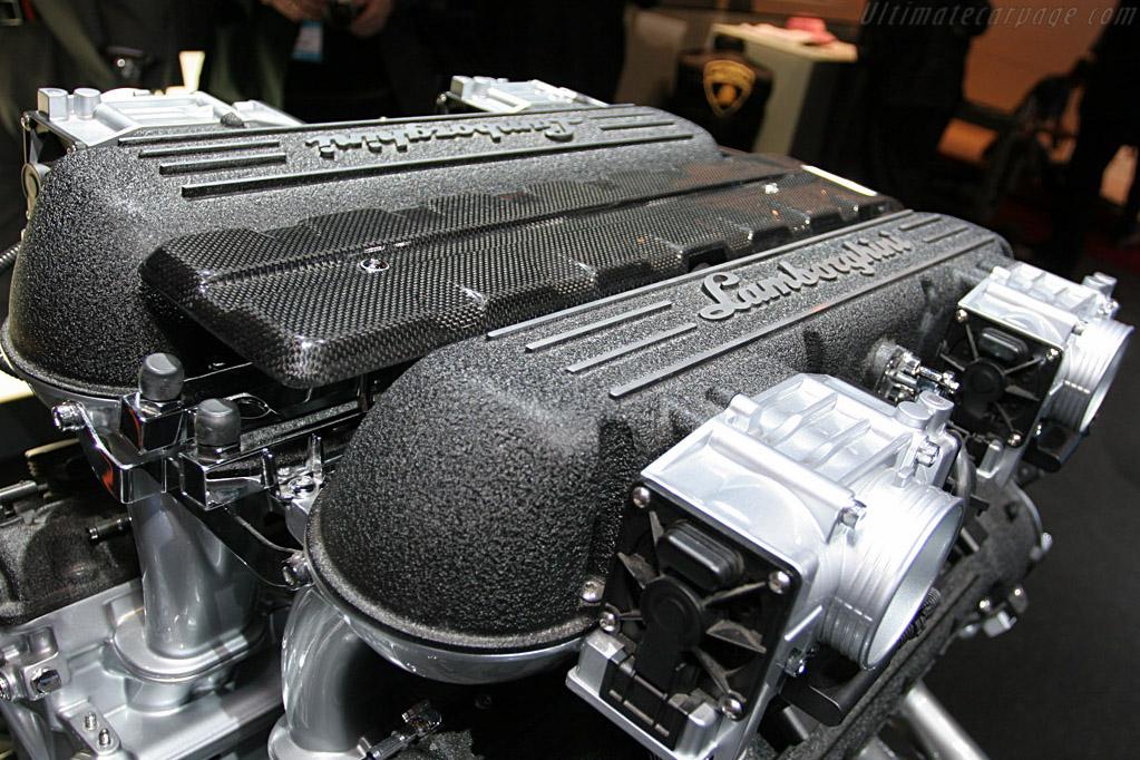 Lamborghini V12    - 2008 North American International Auto Show (NAIAS)
