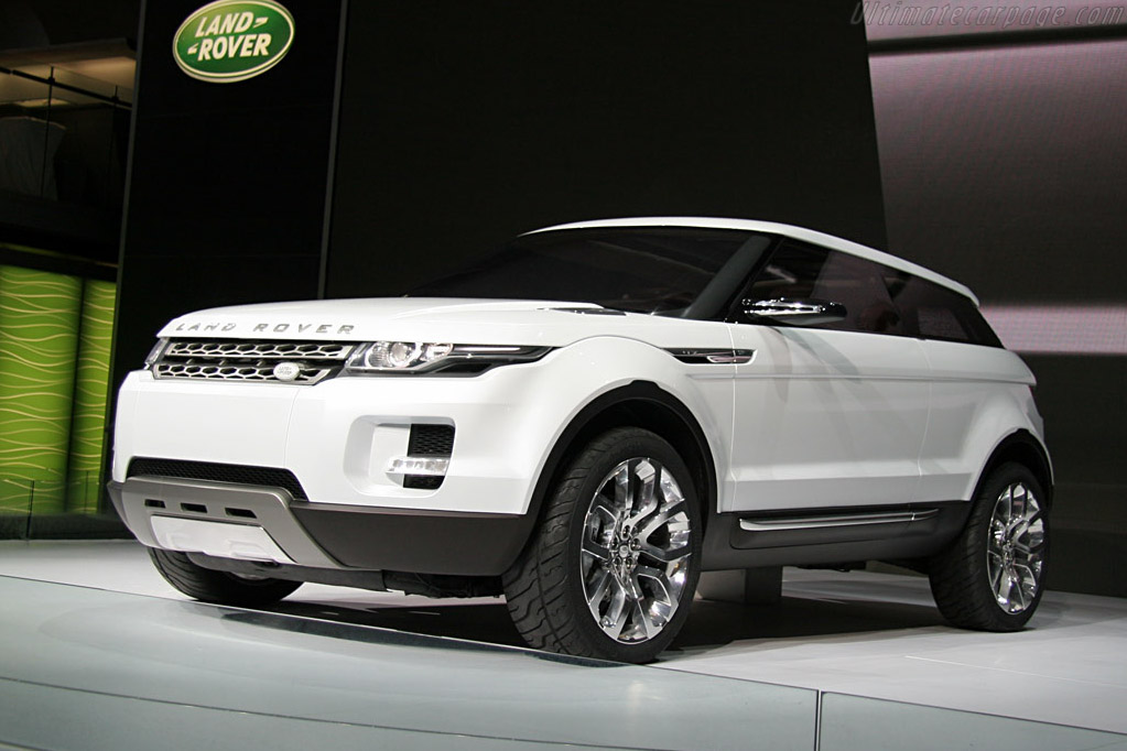 Land Rover LRX Concept    - 2008 North American International Auto Show (NAIAS)