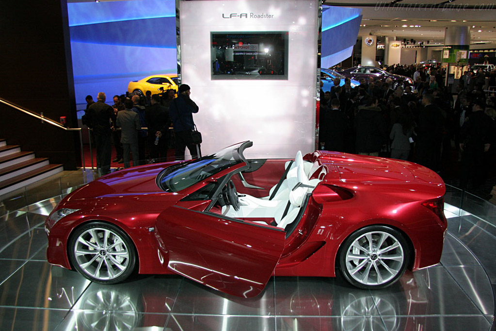 Lexus LF-A Roadster    - 2008 North American International Auto Show (NAIAS)