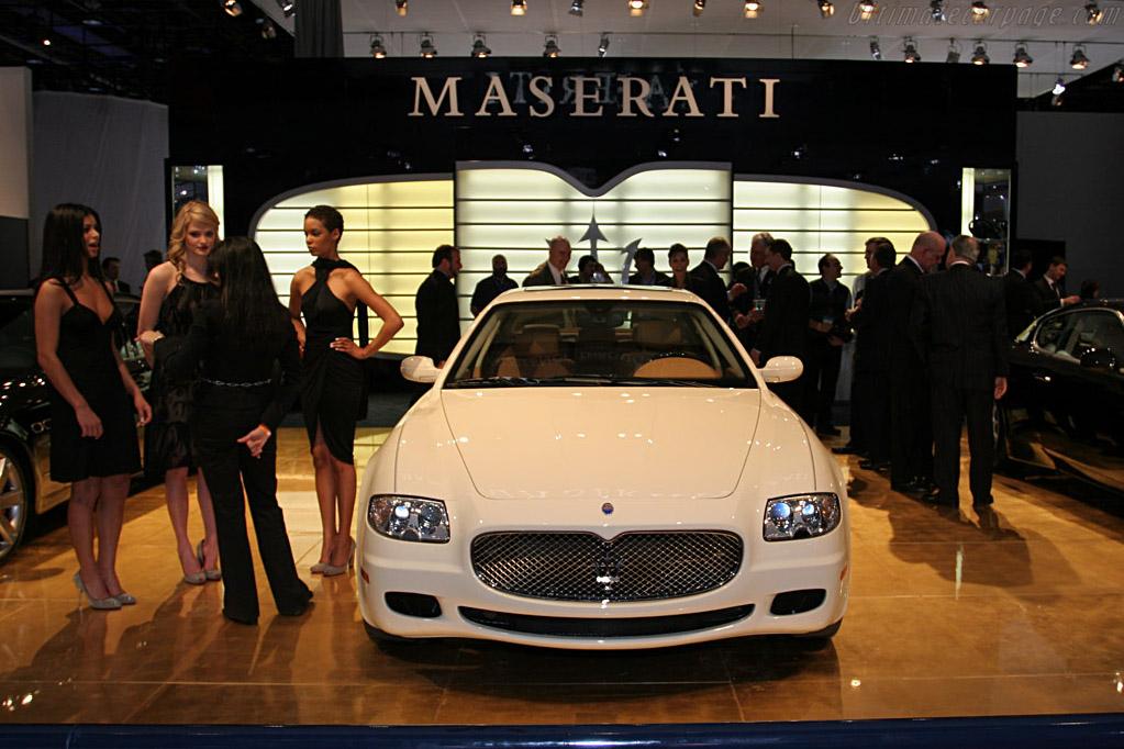 Maserati Quattroporte 'Collezione Cento'    - 2008 North American International Auto Show (NAIAS)