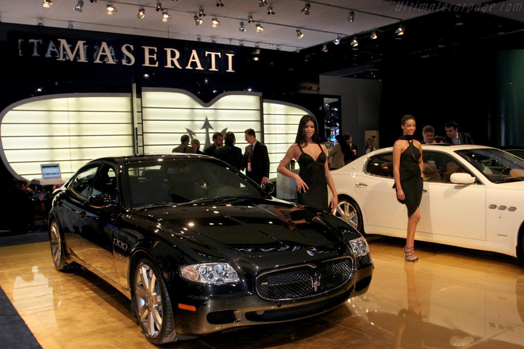 Maserati Quattroporte    - 2008 North American International Auto Show (NAIAS)