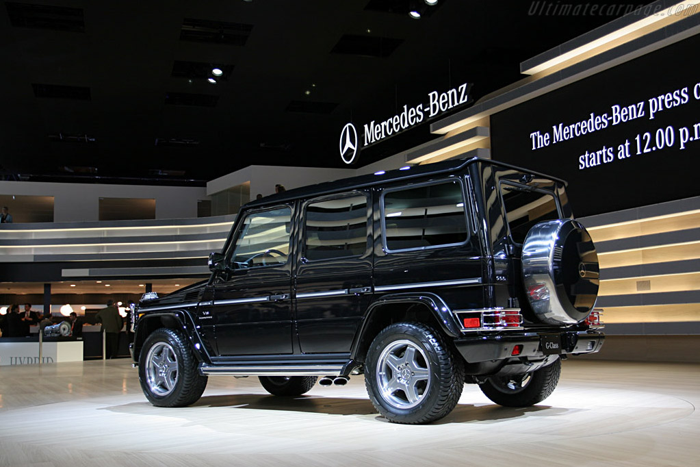 Mercedes-Benz G55 AMG    - 2008 North American International Auto Show (NAIAS)