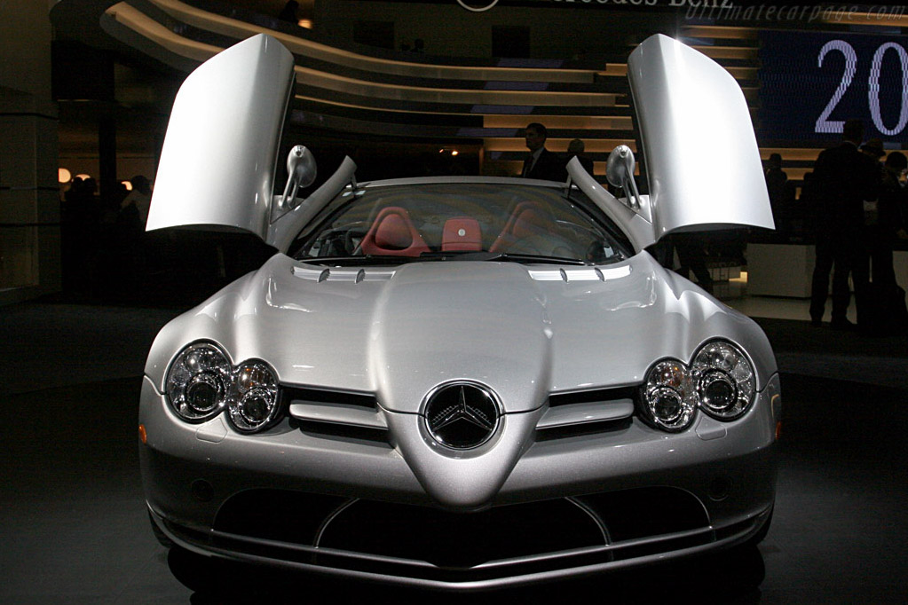 Mercedes-Benz SLR McLaren Roadster    - 2008 North American International Auto Show (NAIAS)