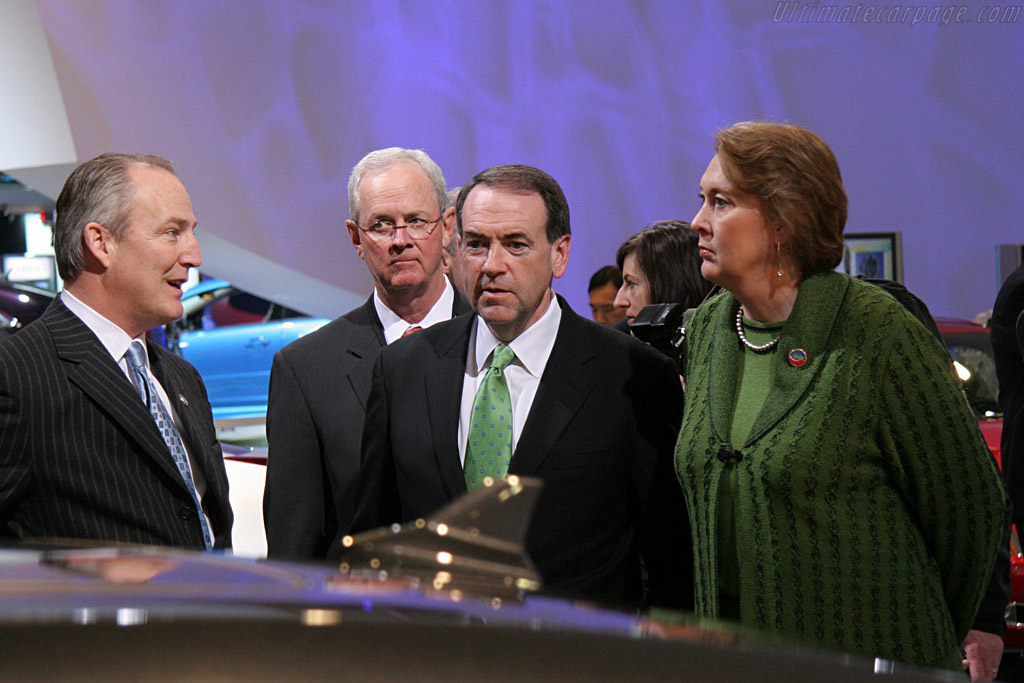 Mike Huckabee    - 2008 North American International Auto Show (NAIAS)