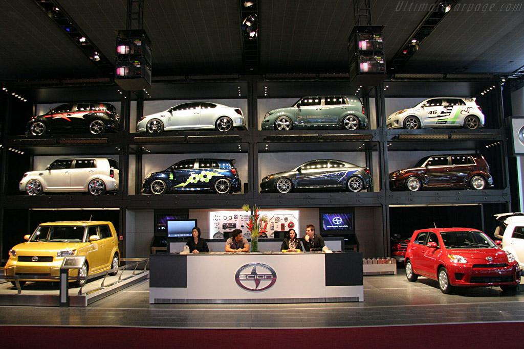 Scion Booth    - 2008 North American International Auto Show (NAIAS)