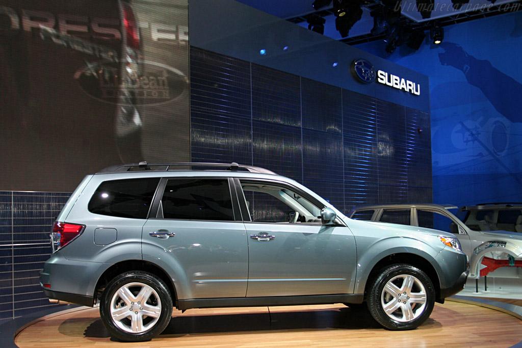 Subaru Forester    - 2008 North American International Auto Show (NAIAS)