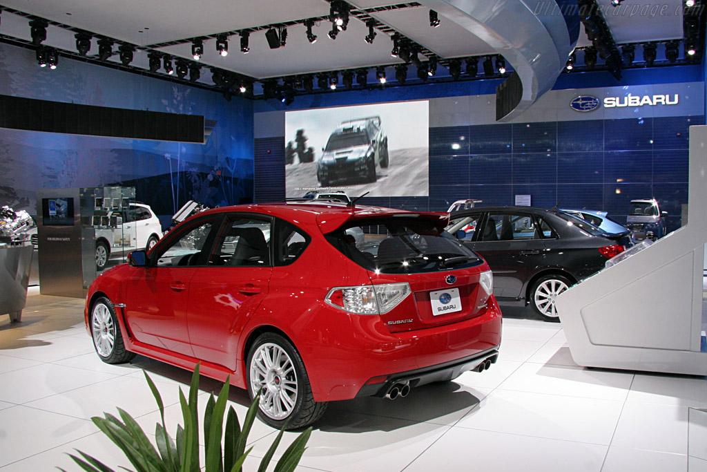Subaru Impreza STi    - 2008 North American International Auto Show (NAIAS)