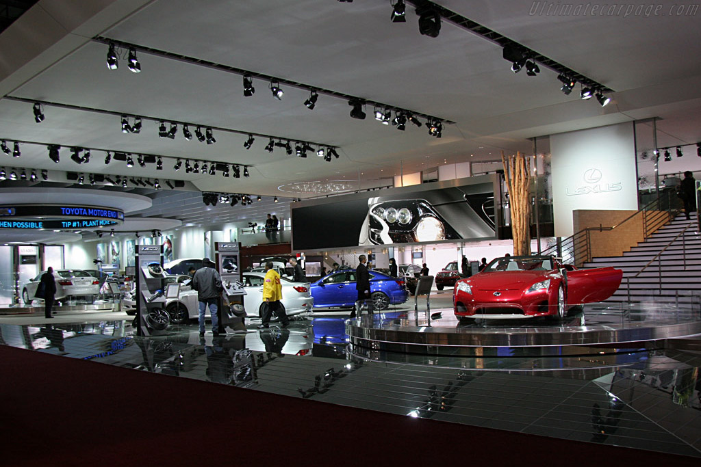 Toyota Booth    - 2008 North American International Auto Show (NAIAS)