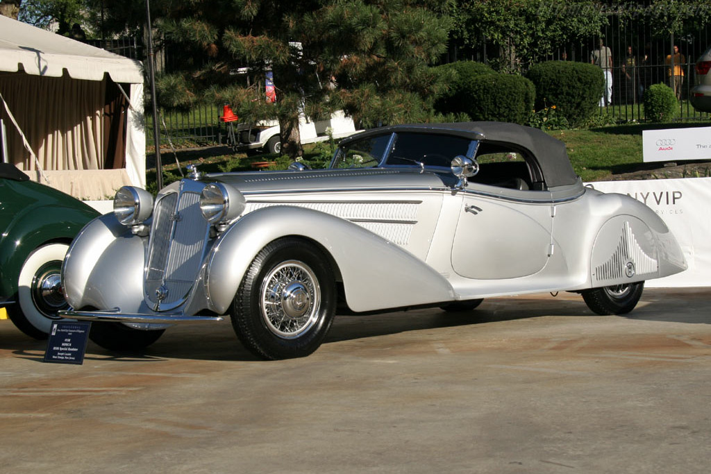 Horch 853A Erdmann & Rossi Sport Cabriolet - Chassis: 854275   - 2005 New York City Concours d'Elegance