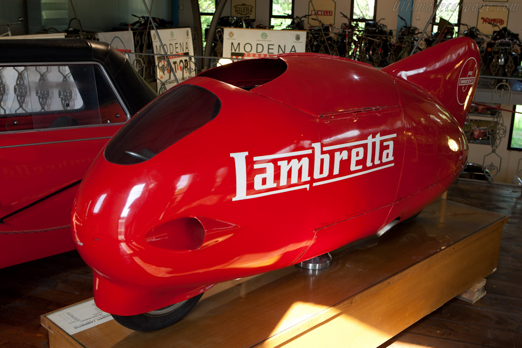 Lambretta Streamliner    - Panini Maserati Collection