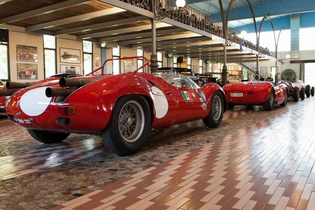 Maserati Tipo 63 Birdcage V12 - Chassis: 63.008   - Panini Maserati Collection