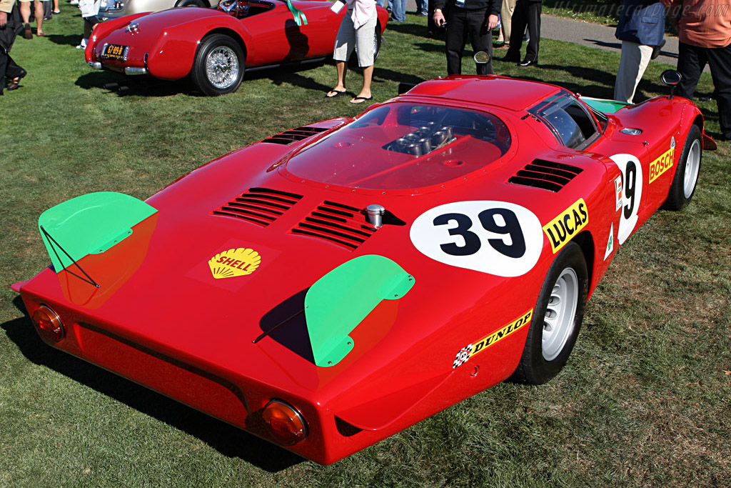 Alfa Romeo Tipo 33/2 Le Mans Coupe - Chassis: 75033.017   - 2007 Pebble Beach Concours d'Elegance