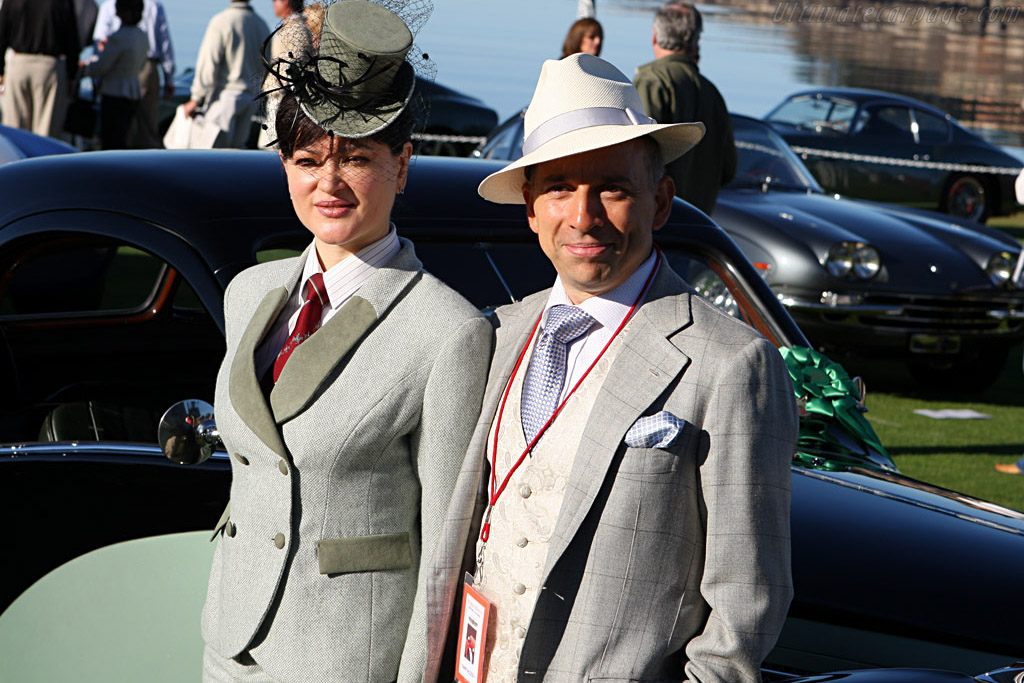All dressed up    - 2007 Pebble Beach Concours d'Elegance