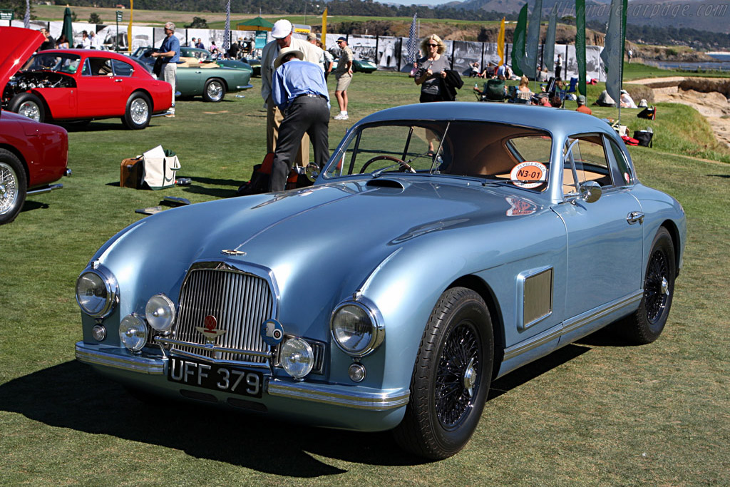 Aston Martin DB2 Coupe    - 2007 Pebble Beach Concours d'Elegance