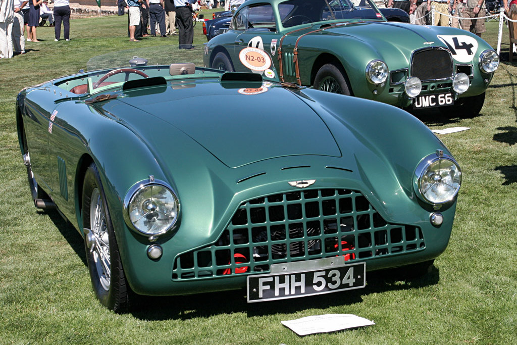 Aston Martin DB3 - Chassis: DB3/6   - 2007 Pebble Beach Concours d'Elegance